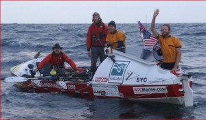 Oars Northwest team who rowed across the North Atlantic in 2006