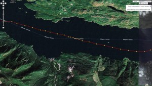 I drifted at 1.5 knots at 2:00 am