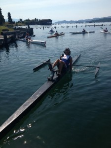 I won the Shore to Shore race across Flathead lake!
