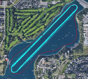 Glenmore Reservoir Idea route