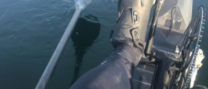 """First open water speed test for new 24 hour record boat """"Libby"""""""