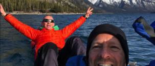 Bryon and Greg race to Alaska