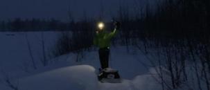 Iditasport 100 km winter ultra. I won!